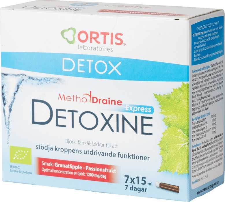 Köp MethodDraine Detoxine Express 7 x 15 ml på vitaminvaruhuset.se 82d8538c528d2